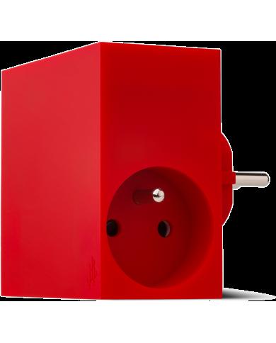 USBEPOWER Hide, multiprise et chargeur murale USB 4.4A Astucieux et indispensable : la multiprise secteur avec 3 prises USB dont
