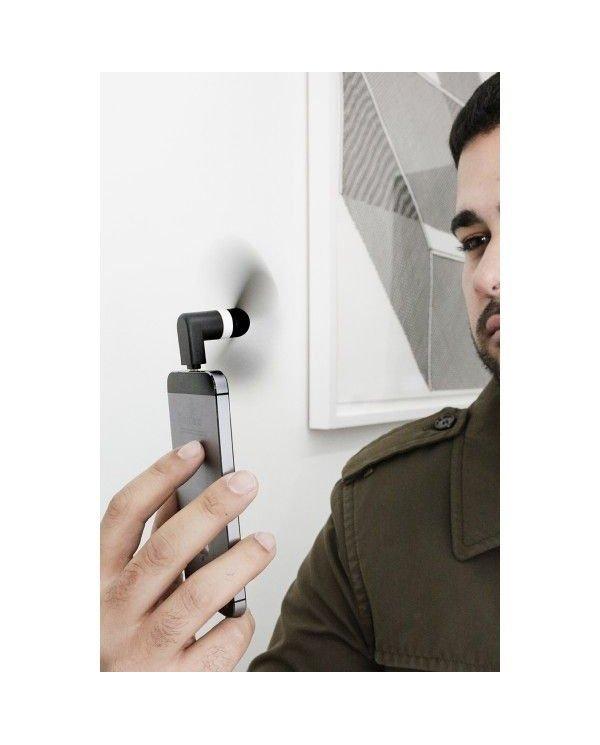 Mini ventilateur alimenté par votre smartphone Lightning - MicroUSB - USB C  - 2