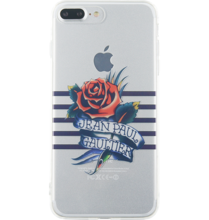 coque iphone 7 transparente impression tatoo de jean. Black Bedroom Furniture Sets. Home Design Ideas