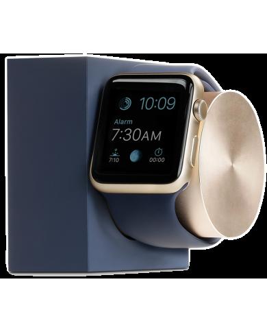 Dock Apple watch bleu marine, le socle de chargement pour votre montre apple