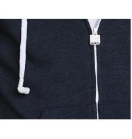 Sweat zippé HoodieBuddie AJ3113 bleu marine avec écouteurs et micro intégrés Hoodiebuddie - 3