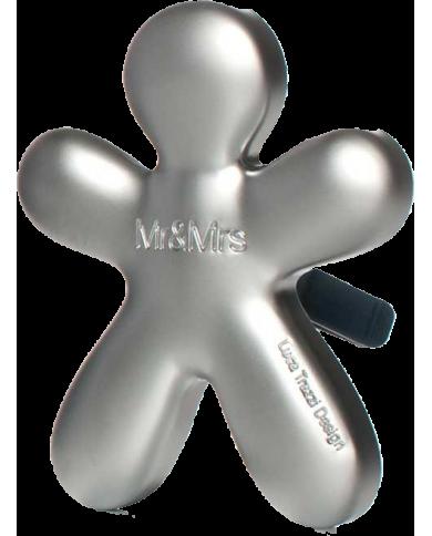 Niki - fresh air frosted silver - diffuseur de parfum rechargeable pour voitures