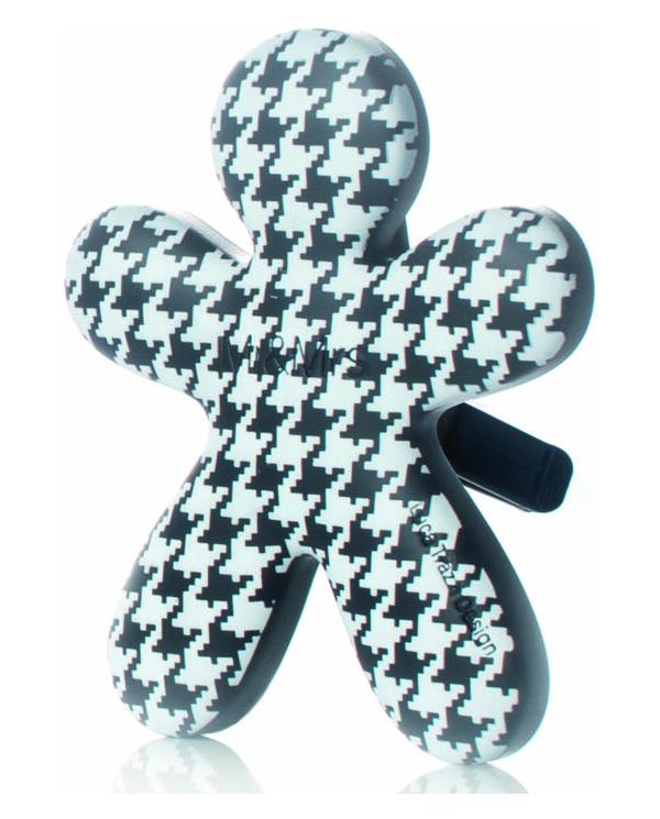 Mr & Mrs Fragrance - pied de poule black orchidea - diffuseur de parfum rechargeable pour voiture Mr & Mrs Fragrance - 1