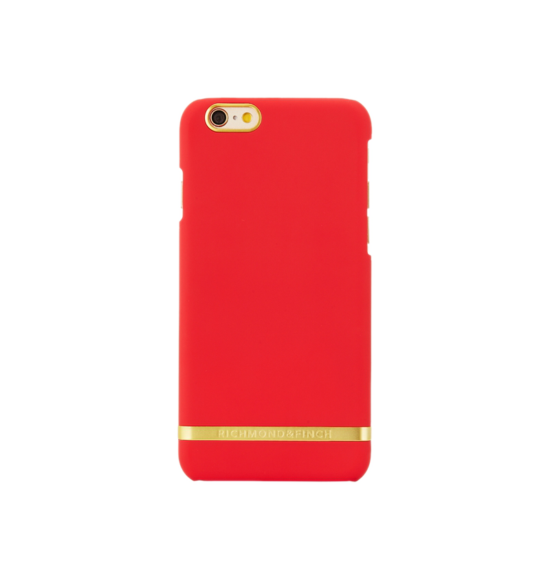 coque transparente rouge iphone 6