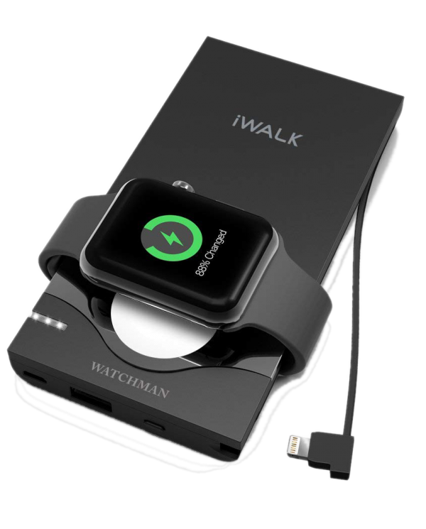 Batterie de secours pour iPhone et Apple watch -Iwalk - WatchMan - 10000mah  - 1