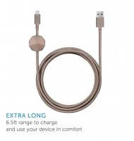 Native Union - Cable Lightning - Anchor Cable - Taupe -  - 2