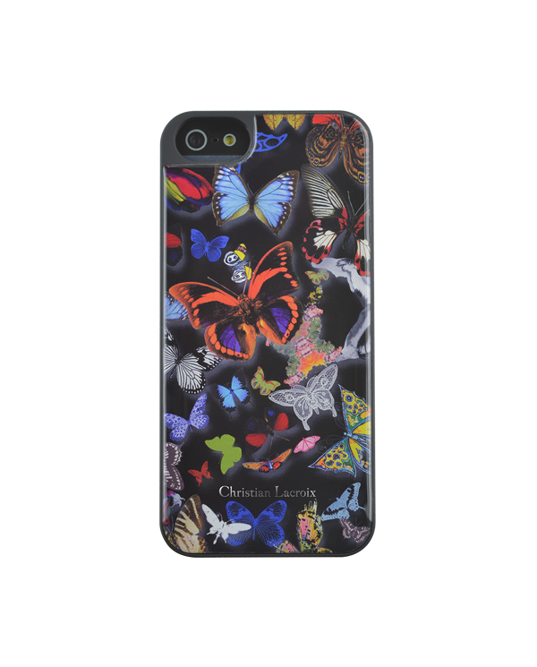 Coque Iphone 5 et 5S, Butterfly Parade Christian LACROIX - 1