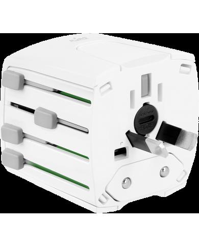Puro - Adaptateur secteur universel - blanc  - 3