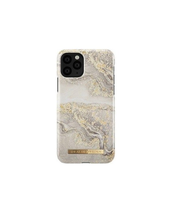 Ideal Of Sweden - Coque Fashion Sparkle Greige Marble - iPhone 11 Ideal of Sweden - 1