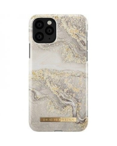 Ideal Of Sweden - Coque Fashion Sparkle Greige Marble - iPhone 11 Pro