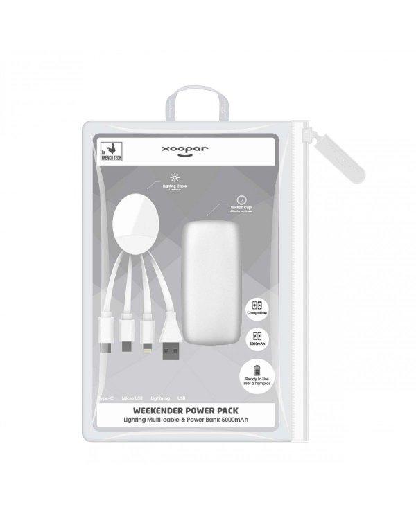 Xoopar - Weekender - Multi câble & powerbank 5000mAh Xoopar - 3