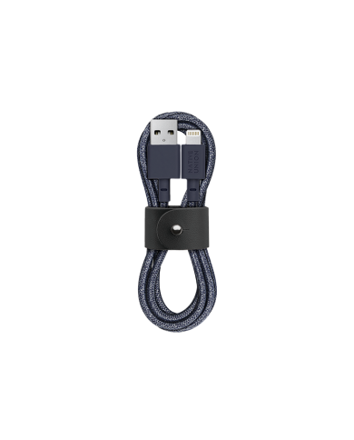 Native Union - Belt Câble - 1.2  - Lightning Charge intelligente et soignée. Le câble de ceinture est emballé et sécurisé avec u