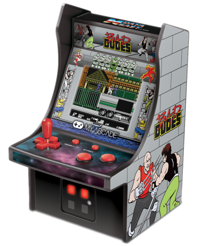 My Arcade - Bad Dudes - Borne d'arcade  - 1