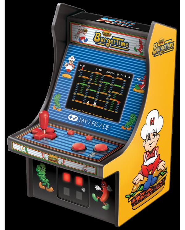 My Arcade - Burger Time - Borne d'arcade Joue à Burger Timeet collectionne les rééditions officielles des célèbres jeux d'arcad