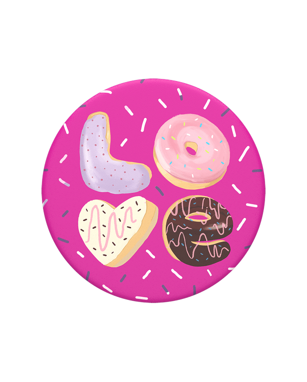 Popsockets - Phone grip & stand - Love Donut PopSocket - 1