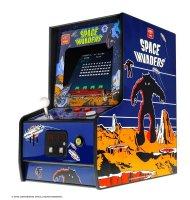 My Arcade - Borne d'Arcade - Space Invaders Redécouvrez l'aventure épique des célèbres jeux d'arcades avec la ré-édition de Spac