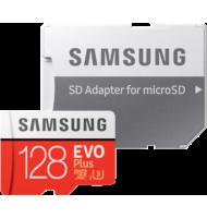 Samsung - Micro SD -  128 Go - avec adaptateur SD Samsung - 1