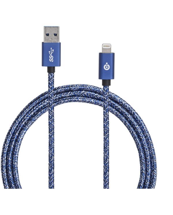 Big ben - Câble tissé - USB et Connectique Lightning - 2m  - 8