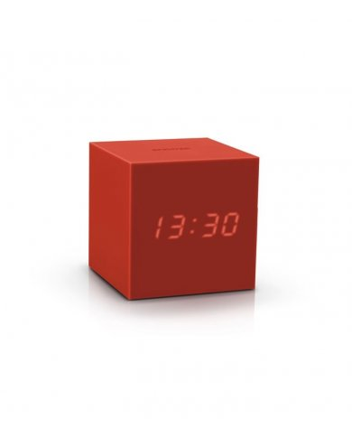 Gingko - Réveil Cube Gravity Click Clock - Silicone  - 1