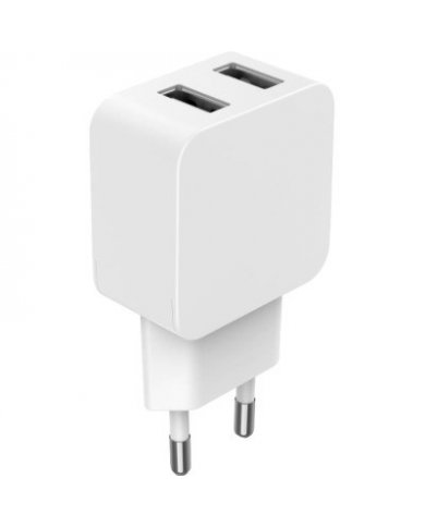 Bigben - Chargeur Maison 2 Port USB A 24W Avec cette base de chargeur, rechargez n'importe quel appareil à une prise secteur, se