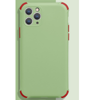 Protection Silicone - ShockProof - Vert - Iphone 12 12 Pro