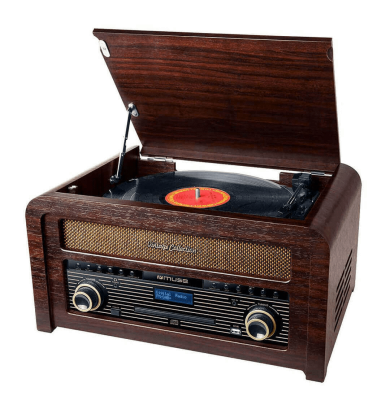 Muse - MT-115 DAB - Micro-Chaine CD Avec Platine Vinyle et Radio FM/DAB Muse - 4