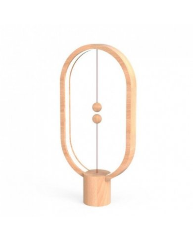 Heng - Lampe Heng Balance Elipse En Bois  - 1