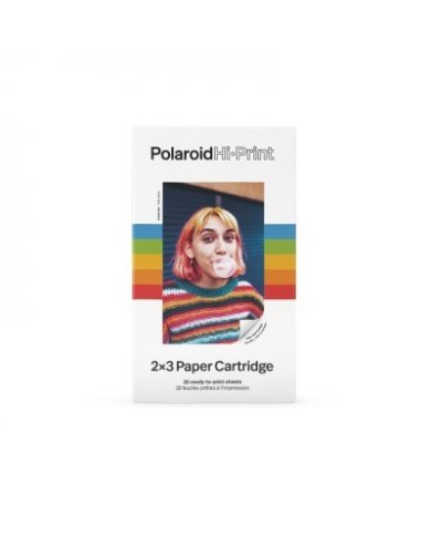 Polaroid - Papier photo x20 couleur Polaroid  - 1