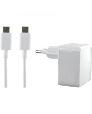 Bigben - Chargeur Secteur - Deux Port - USB-C 3A - USB A 2,4A Rechargez n'importe quel appareil compatible USB C ou branchez n'i