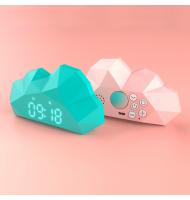 Cutty clock - Mini Cloudy réveil emblématique Cutie Clock se décline en version « Cloudy », plus petite pour que vous puissiez f
