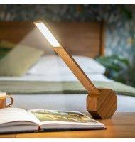 Gingko - Octagon - Lampe De Bureau LED - Cherry La nouvelle lampe de bureau Octagon One Plus a hérité du même design élégant que