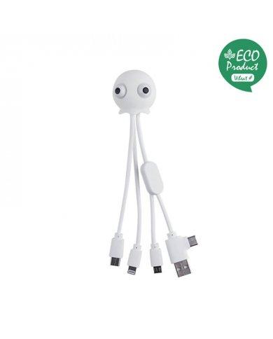 Xoopar - Jelly - Multi câble USB - Blanc