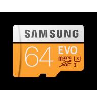 Samsung - EVO MB-MP32GA - 64 Gb - Carte MicroSDHC avec adaptateur SD  - 1