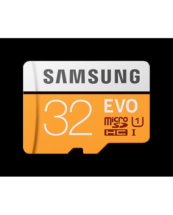Samsung - EVO MB-MP32GA - 32 Gb - Carte MicroSDHC avec adaptateur SD  - 1